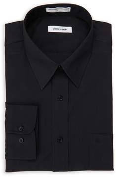Pierre Cardin Black Regular Fit Open Pocket Dress Shirt