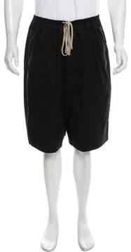 Rick Owens Faun Drop-Crotch Shorts