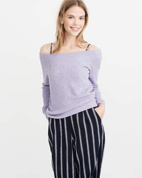 Abercrombie & Fitch Off-The-Shoulder Sweater