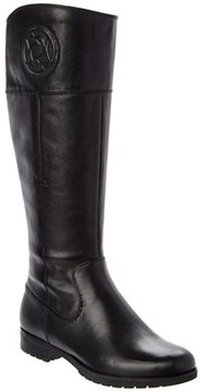 Rockport Tristina Rosette Leather Tall Boot.