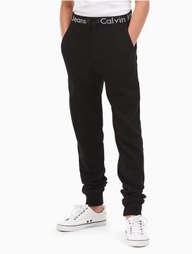 Calvin Klein Jeans Boys Logo Fleece Joggers
