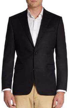 Saks Fifth Avenue BLACK Slim-Fit Cashmere Sportcoat