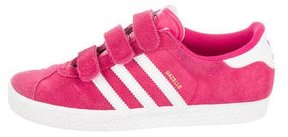 adidas Girls' Suede Gazelle Sneakers