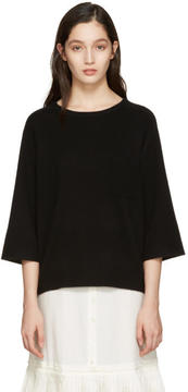 Chloé Black Cashmere Iconic Sweater