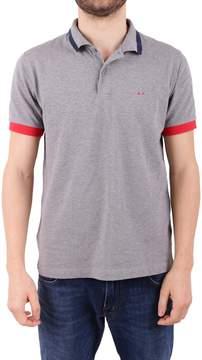 Sun 68 Blend Pique Cotton Polo Shirt