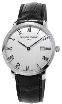 Frederique Constant Slimline Automatic-Self-Wind Stainless Steel Watch