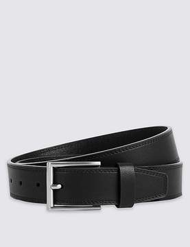 Marks and Spencer Twin Stitch Faux Leather Belt