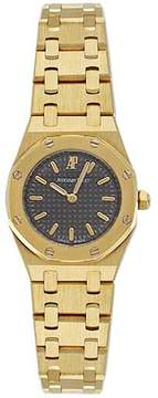 Audemars Piguet Royal Oak 18kt Yellow Gold Mini Ladies Watch