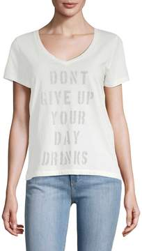 Sol Angeles Women's Day Drinks V-neck T-shirt