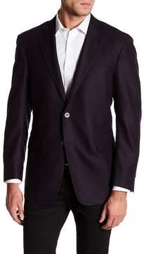 Robert Talbott Carmel Black Wool Sports Coat