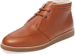 Fred Perry Men's Southall Mid Leather Chukka Sneaker