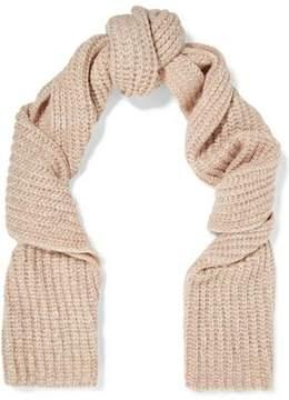 Maje Magalie Marled Knitted Scarf