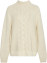 Vilshenko Cable-Knit Wool and Cashmere Sweater