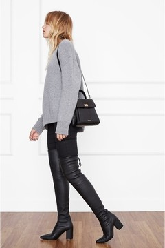 Anine Bing Taylor Boots Black Leather