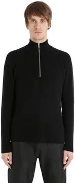 Peak Performance Verdi Half Zip Wool Blend Sweater