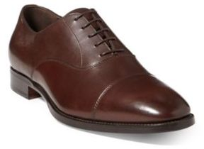 Ralph Lauren Bartsworth Calfskin Oxford Dark Brown 12 D