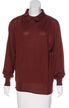 Celine Wool Collared Sweater