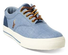 Ralph Lauren Vaughn Canvas Sneaker Blue/Indigo 10