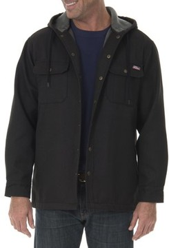 Dickies Genuine  Big Men's Twill Polar Fleece Lined Shirt Jacket
