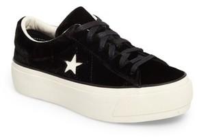 Converse Women's Chuck Taylor One Star Platform Sneaker