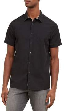 Kenneth Cole New York Reaction Kenneth Cole Short-Sleeve Snap Shirt - Men's