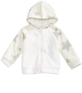 First Impressions Star-Print Hoodie with Faux-Fur Trim, Baby Boys & Girls (0-24 months), Created for Macy's