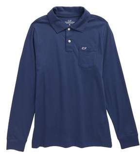 Vineyard Vines Pima Cotton Jersey Polo