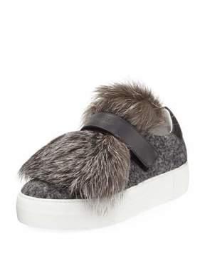 Moncler Victoire Fox Platform Sneaker
