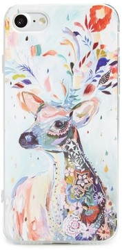 BP Painted Deer Iphone 6/6S/7 Case - Blue