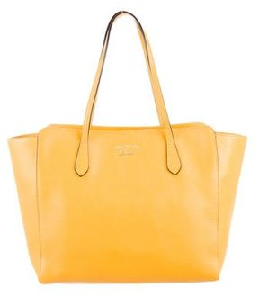 Gucci Medium Swing Tote w/ Tags - YELLOW - STYLE