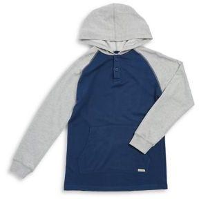 Lucky Brand Boy's Raglan Sleeve Hoodie
