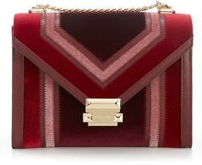 MICHAEL Michael Kors Whitney Colorblock Velvet Shoulder Bag