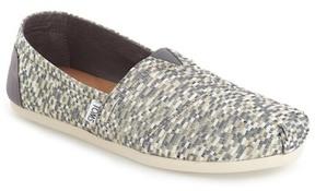 Toms Classic Glitz Woven Slip-On Shoe