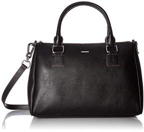 Lodis Mill Valley Under Lock and Key Valda Satchel Blk