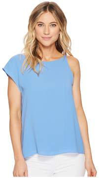Adelyn Rae Addy Draped Top Women's Clothing
