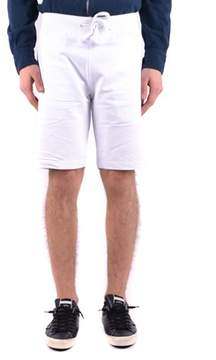Aeronautica Militare Men's White Cotton Shorts.