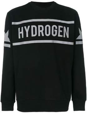 Hydrogen icon star crewneck sweatshirt