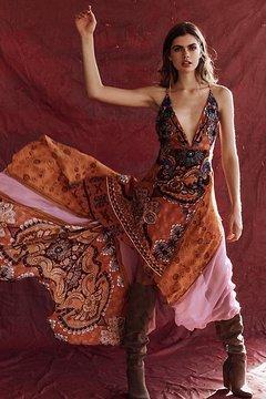 Bali Heartbreaker Midi Dress at Free People