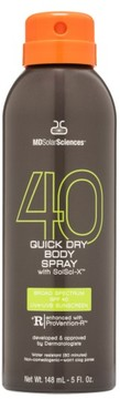 MDSolarSciences TM) Quick Dry Body Spray Broad Spectrum Spf 40 Sunscreen