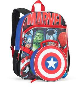 Marvel Universe 16 Backpack With Detachable Lunch Bag