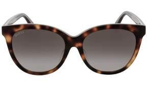 Gucci GG0081SK Sunglasses AVANA-AVANA-BROWN