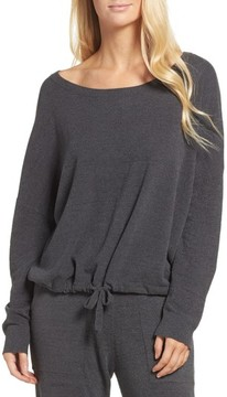 Barefoot Dreams Women's Cozychic Ultra Lite Lounge Pullover