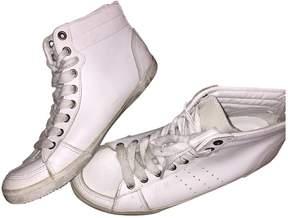 IRO White Leather Trainers