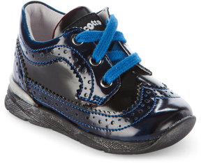 Naturino Toddler Girls) Blue Falcotto Carson Derby Shoes