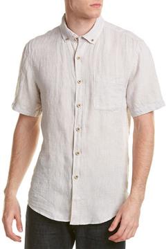 Report Collection Resort Linen Woven Shirt