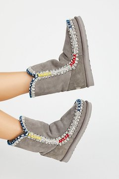 Mou Snow Day Ankle Boots at Free People