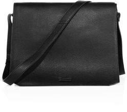 Uri Minkoff Pebbled Leather Messenger Bag