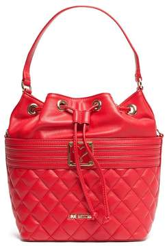Love Moschino Drawstring Quilted Shoulder Bag