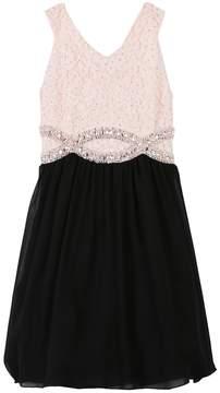 Speechless Girls 7-16 & Plus Size Glitter & Rhinestone Dress