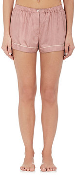 Araks Women's Tia Dot-Print Silk Pajama Shorts